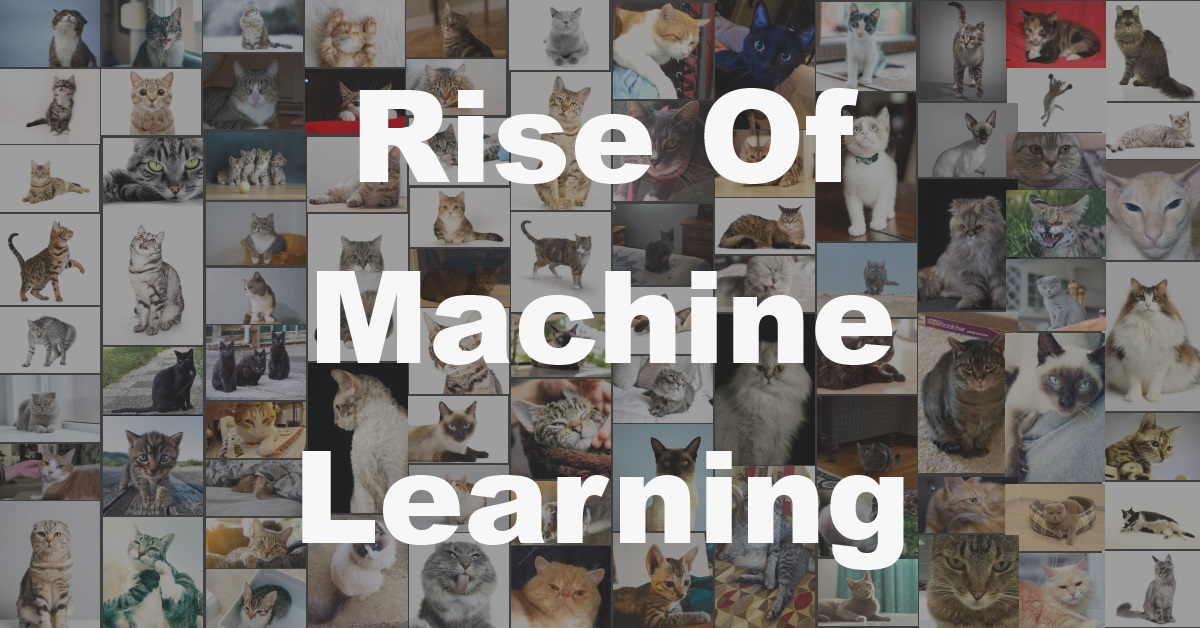 Rise Of Machine Learning