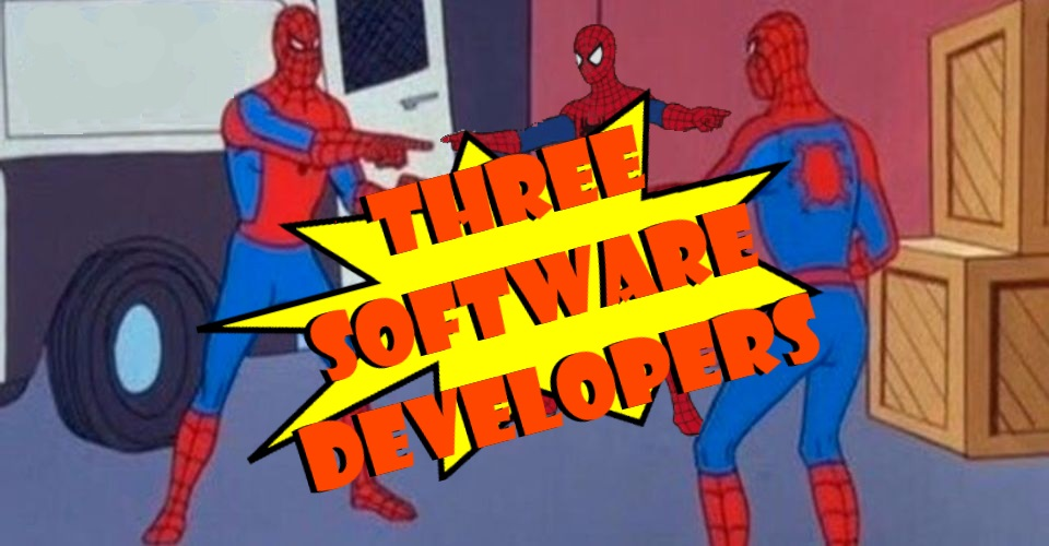 Three Software Developers